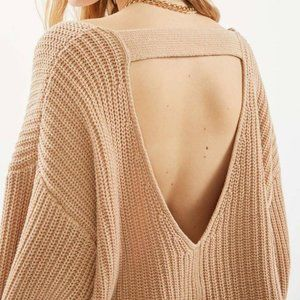 Urban Outfitters Avery Double V-neck Sweater